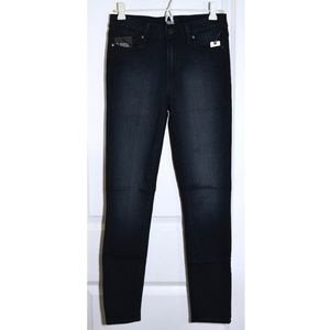 NWT PAIGE Hoxton Skinny High Rise Ankle in Harla